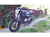 Lexmoto zsx 125 motorbike/Spairs or repairs