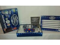 All Star Family Fortunes Board Game With Uh-Uh Buzzer Complete w Instructions