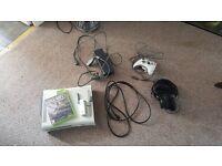 Xbox 360 Console, 1 Game & Accessories