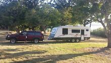 2011 21.6ft Redback Caravan Legacy and tow vehicle Penrith Penrith Area Preview