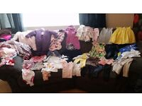 SENSIBLE OFFERS!!Baby girls large bundle 3-6 6-9 Next River Island Ralph Lauren Converse & more