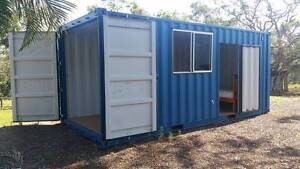 Near New 20 Foot Container / Extra Guest Bedroom North Isis Bundaberg Surrounds Preview