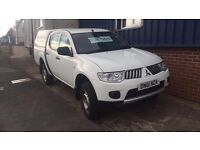 Mitsubishi L200 4 work with Double Cab