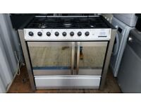 Stainless Steel 'Belling' Dual Fuel Range Cooker -Excellent Condition / Free local delivery