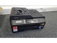Brother MFC-J6510DW Printer & Scanner with new compatible ink cartridges.