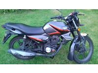 Keeyway RK125, 1 owner, low mileage, good condition