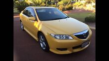 2004 Mazda 6 Luxury Sports Yellow Auto Kingsley Joondalup Area Preview