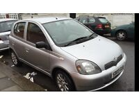 Toyota Yaris 1.0 L. Bargain price. Ideal first car first to see will buy.Nice condition