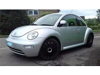 2004 VW BEETLE 2.0 PETROL. TIDY FOR ITS YEAR WITH MOT TIL OCTOBER reduced to clear only £495
