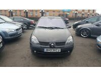RENAULT CLIO 1.2 16V DYNAMIQUE FULL SERVICE HISTORY 2 KEYS SUNROOF AUX ELECTRIC WINDOWS