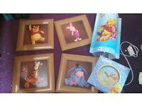 Disney Winnie the Pooh Nursery set