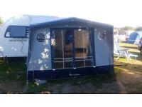 Isabella Magnum Blue Caravan Awning & Isabella blue carpet groundsheet