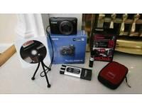 Canon powershot digital camera 40 digital zoom full hd video wide angle lens