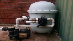 Pool pump and Filter plus accessories Seaton Charles Sturt Area Preview