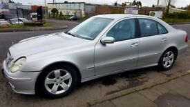 2003 Mercedes E Class. Automatic 10 mths MOT. 120,000 Miles. £1800 ONO