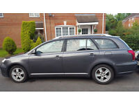 56 PLATE TOYOTA AVENSIS T3-X 2.0 D-4D ESTATE, 12 MONTHS MOT, FULL TOYOTA SERVICE HISTORY, ONLY 92K