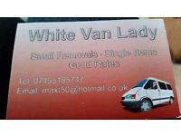 White van lady