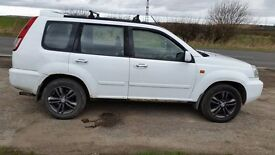 2003 NISSAN XTRAIL 2.2DCI SPORT 4X4 MOT,D £750 NO OFFERS/NO OFFERS PX WELCOME