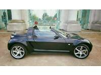 """Smart Roadster Convertible With Exclusive 17"""" Lorinser Alloys"""
