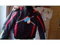 Ladies/girls motorbike jacket size Medium/8,new and unused.