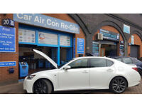 HF01234yf Air Conditioning Re-Gas / Recharge in Birmingham Climate Controllers