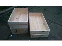 garden outdoor interior designer wood wine crates boxes flower racks