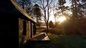 Turbine House Holiday Cottage Rental Romantic Retreat Argyll Loch Views Dogs Welcome Private Estate