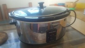 Large Morphy Richards slow cooker