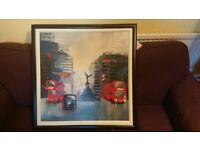 Vintage picture Piccadily Circus London, condition new, offers invited