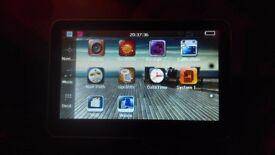 4gb mp3 mp4 gps touch screen satelite navigation
