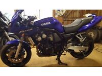 Yamaha FZS600 Fazer 2002 for sale. Low mileage, good condition, low number of owners, rides like new