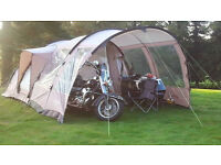 Outwell Nevada M tent, footprint & front extension (2010) for sale