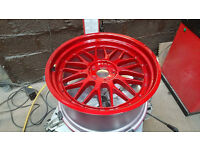 alloy wheel refurbishment refurb rim repair powder coating services rim sales
