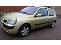 renault clio 1.2 billabong excellent little car great condition just been taxed long mot insured