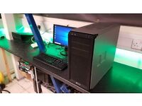 Custom Built Core i5 2nd Gen Quadcore Windows 10 Gaming PC Package 6 Months Warranty £445.00