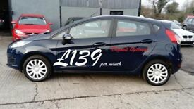2015 FORD FIESTA 1.2 petrol 'only 37k miles' (£139 p/month)