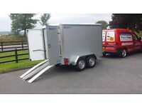 8x5x5 TOW A VAN INDESPENSION BOX TRAILER - GREAT SAVING OF £261 OF R.R.P