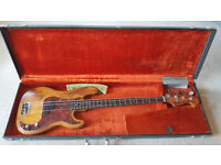 1964/5 FENDER PRECISION BASS WITH A 1972 NECK.