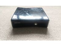 XBOX 360 250GB SLIM WITH POWER BLOCK AND HDMI CABLE - NO CONTROLLERS
