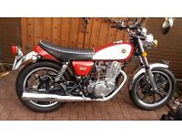 POST CLASSIC 1978 YAMAHA SR500