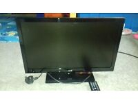 22 INCH JMB TV DVD PLAYER WITH FREEVIEW