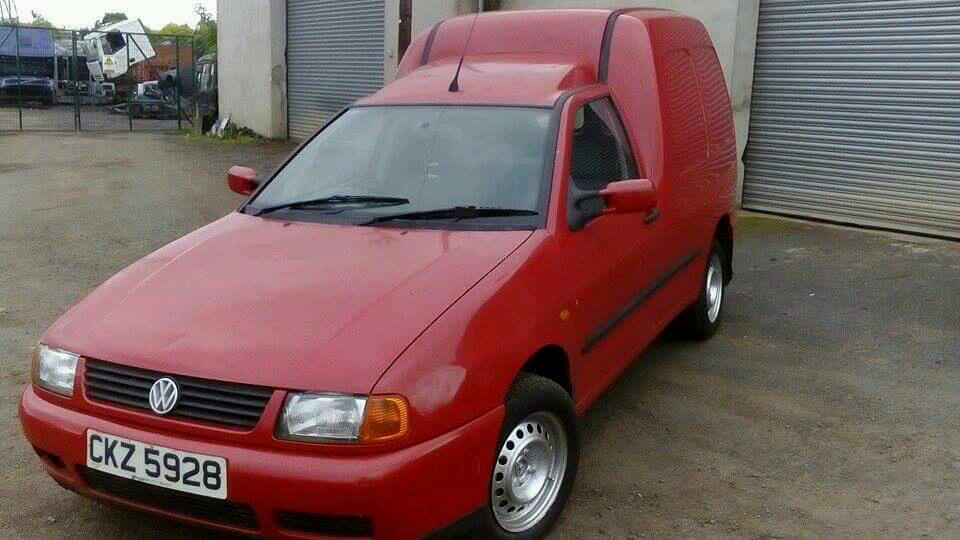 99 Caddy Van