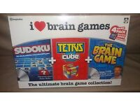 I Love Brain Games Ultimate Collection by Imagination Brand New & Sealed