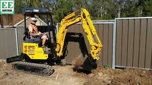 TYM TE1800 Mini Excavator and TE1000 Mini Excavator Northmead Parramatta Area Preview