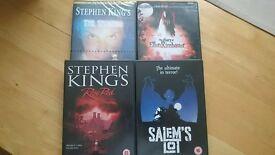 Various dvds. Will split