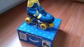 Retro Roller Skates Size 5