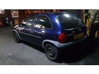 Corsa B Project (comes with 2.5 V6 mitsubishi gallant engine)