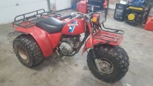Honda 200e atc big red