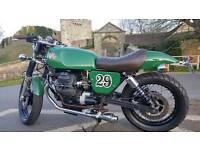 Cafe racer V twin moto guzzi 750