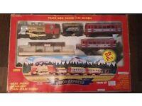 Union Express Train Set w Real Smoke Track Size: 580cm